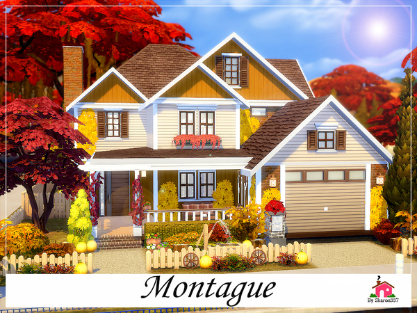 Sims 4 Montague family home by sharon337 at TSR