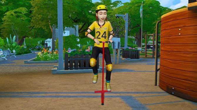 Pogo Stick Pose for Kids at Josie Simblr image 3721 670x377 Sims 4 Updates