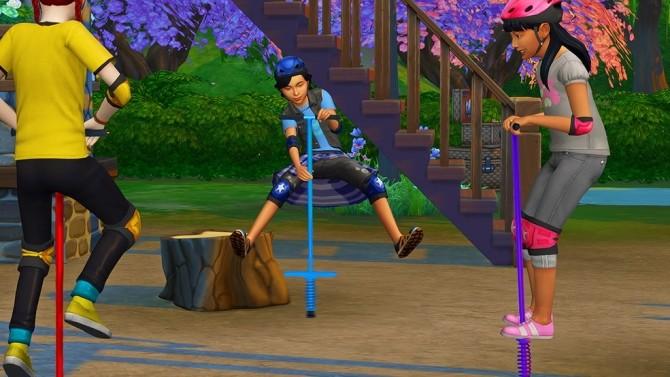 Pogo Stick Pose for Kids at Josie Simblr image 3731 670x377 Sims 4 Updates