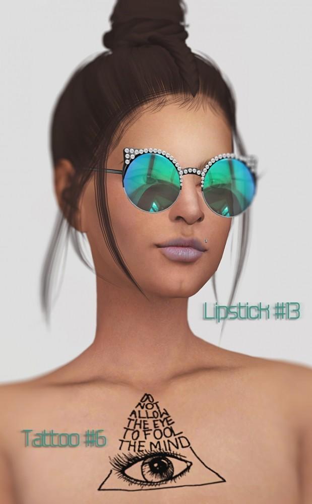 Lipstick #13 & tattoo #6 at Magic bot image 376 619x1000 Sims 4 Updates