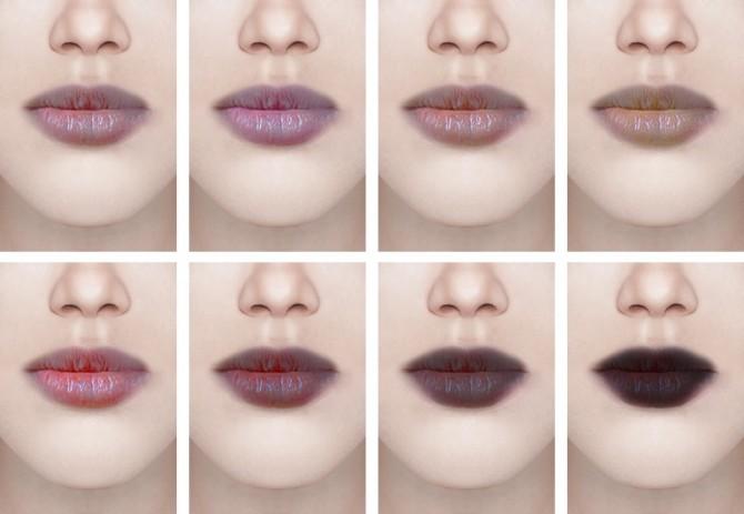 Sims 4 Lipstick #13 & tattoo #6 at Magic bot