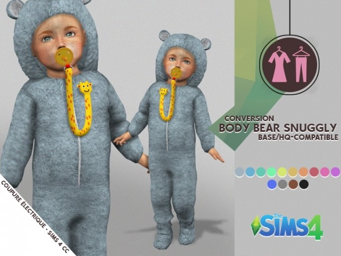BODY BEAR SNUGGLY at Coupure Electrique image 378 670x503 Sims 4 Updates