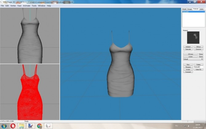 Making wrinkles on clothes using ZBrush at Deep Space image 3831 670x419 Sims 4 Updates