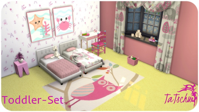 Toddler Set At Tatschu S Sims4 Cc 187 Sims 4 Updates