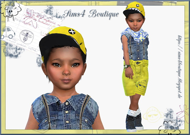Jeans Outfit for little Boys at Sims4 Boutique image 388 Sims 4 Updates
