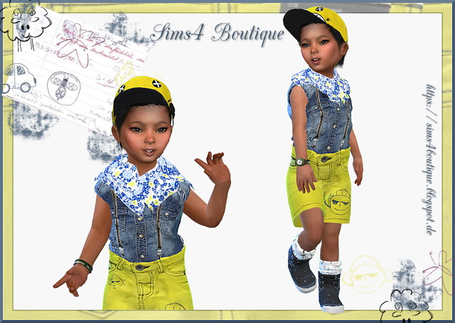 Jeans Outfit for little Boys at Sims4 Boutique image 390 Sims 4 Updates