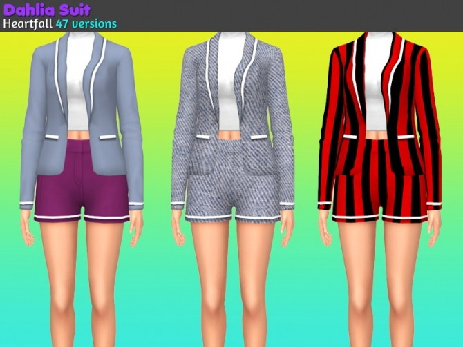 Sims 4 Delia suit at Heartfall