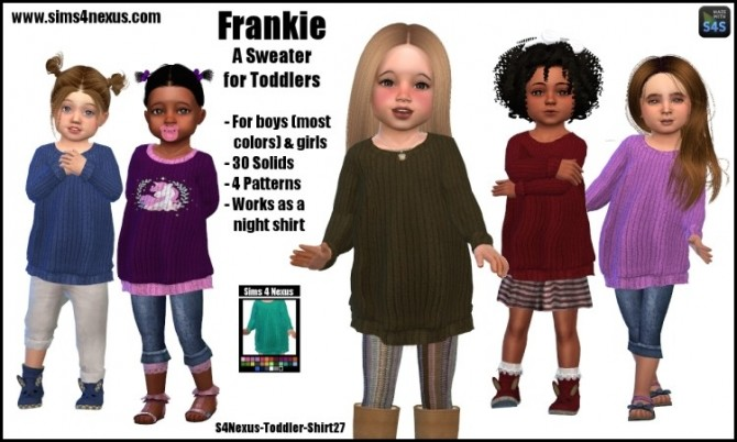 Frankie sweater by SamanthaGump at Sims 4 Nexus image 396 670x402 Sims 4 Updates
