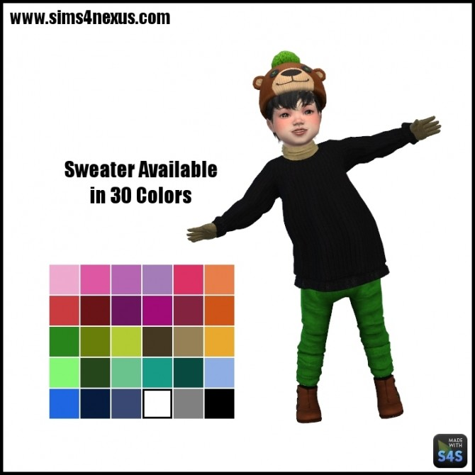 Frankie sweater by SamanthaGump at Sims 4 Nexus image 397 670x670 Sims 4 Updates