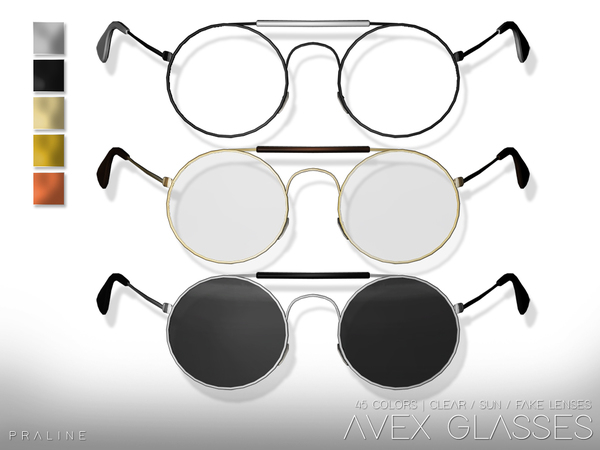 AVEX Glasses by Pralinesims at TSR image 4015 Sims 4 Updates