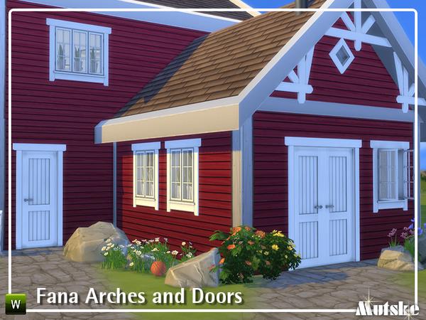 Fana Construction set Part 2 by mutske at TSR image 4017 Sims 4 Updates