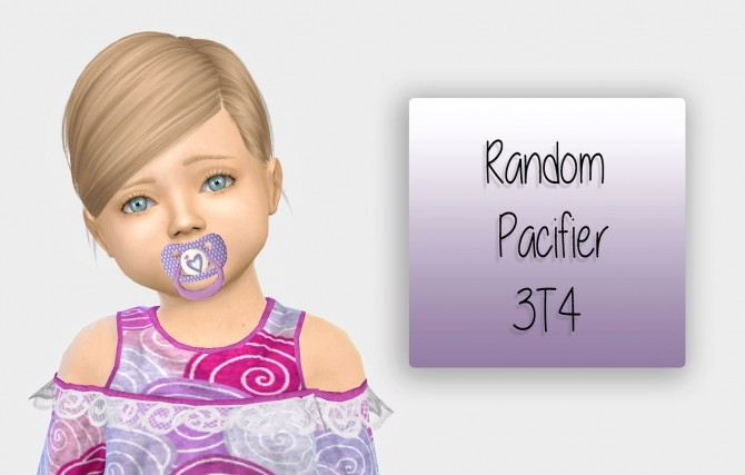 Random Pacifier 3t4 At Simiracle 187 Sims 4 Updates