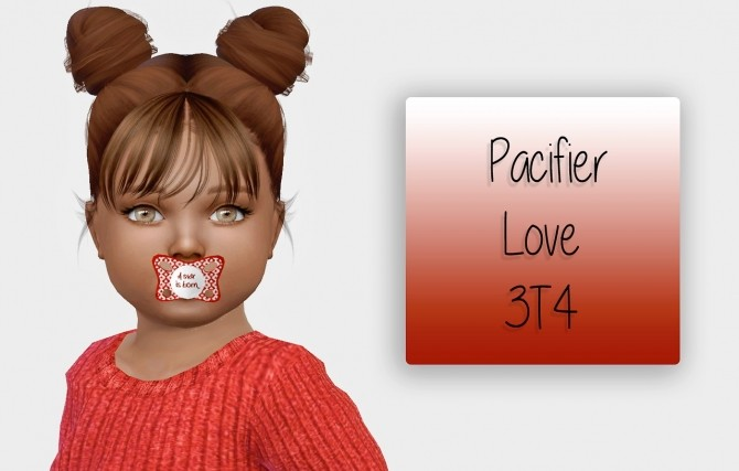 Pacifier Love 3T4 at Simiracle image 406 670x427 Sims 4 Updates