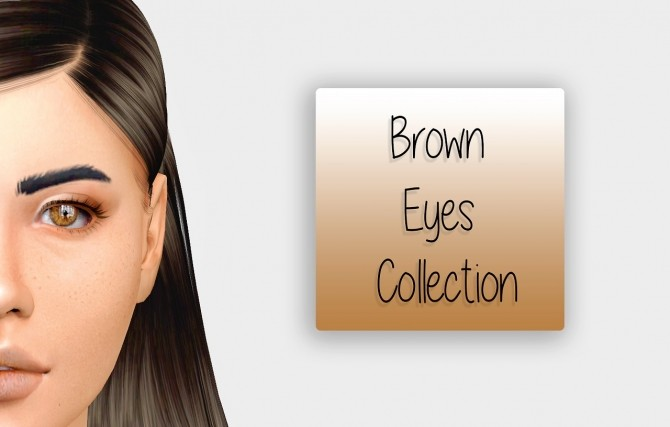 The Bown Eyes Collection 2T4 at Simiracle image 407 670x427 Sims 4 Updates