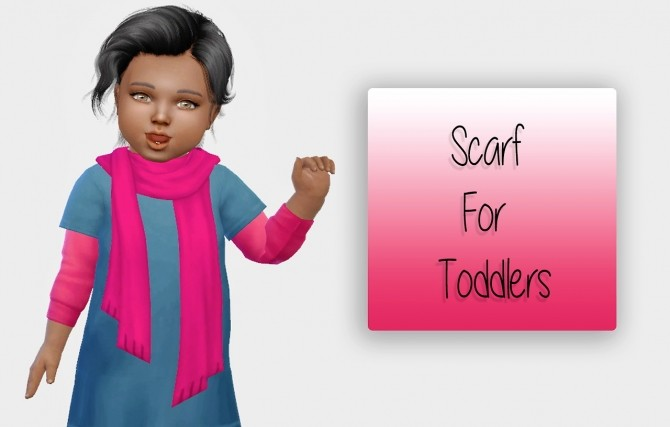 Scarf For Toddlers at Simiracle image 4111 670x427 Sims 4 Updates