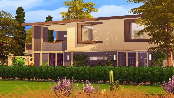 Barrett modern home at Jenba Sims image 4171 670x377 Sims 4 Updates