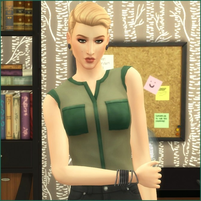 Joely Sterling by Hellfrozeover at Mod The Sims image 421 670x670 Sims 4 Updates