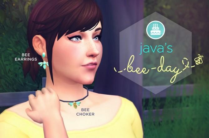 Sims 4 Java's Bee Day set at The Plumbob Tea Society