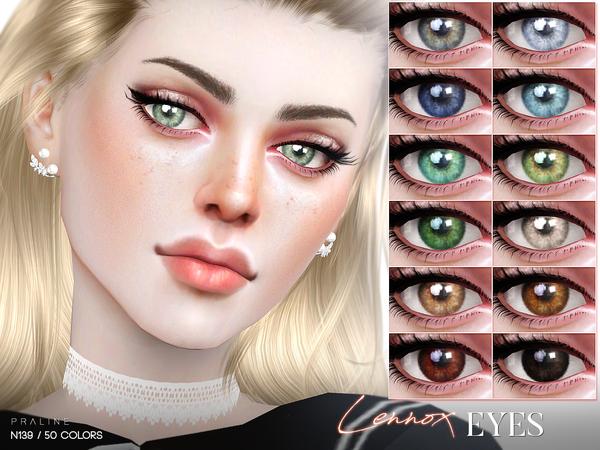 Sims 4 Lennox Eyes N139 by Pralinesims at TSR
