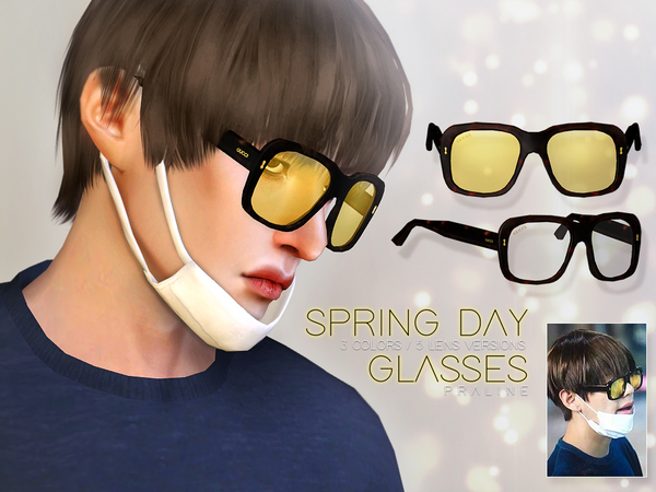 Spring Day Glasses by Pralinesims at TSR image 4316 Sims 4 Updates