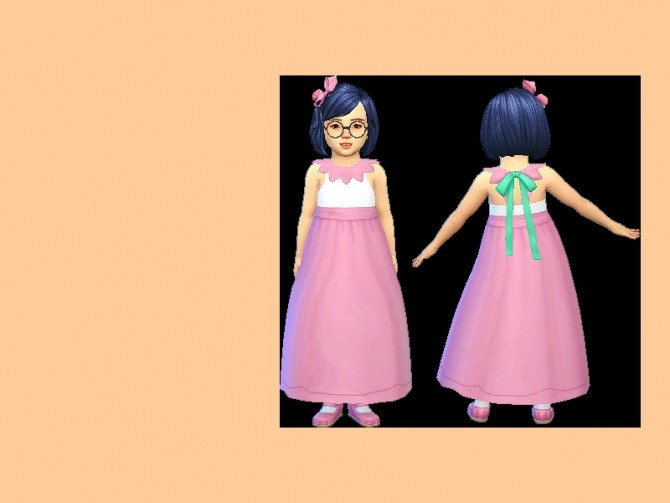 Sims 4 Petunia Outfit Set at qvoix – escaping reality