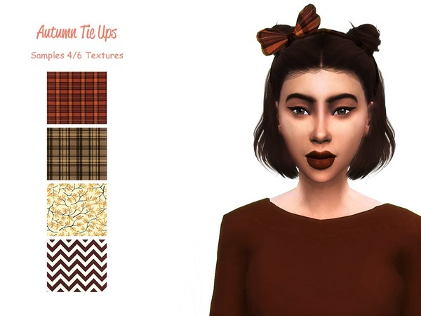 Sims 4 Autumn Tie Ups by simmerkate at TSR