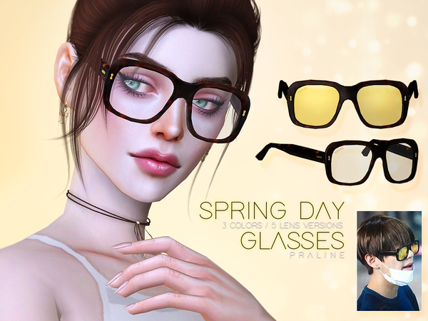Spring Day Glasses by Pralinesims at TSR image 4416 Sims 4 Updates