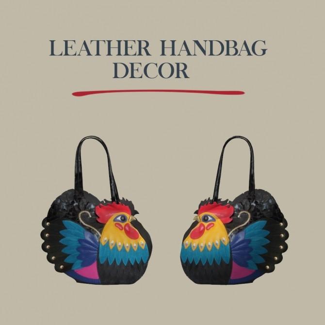 Leather Handbag Decor at Leo Sims image 4441 670x670 Sims 4 Updates