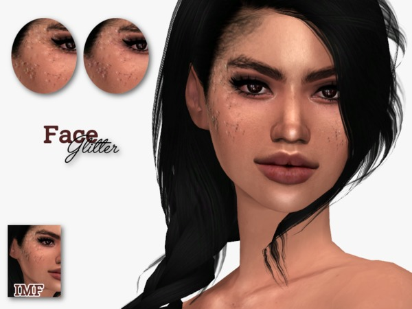 IMF Face Glitter by IzzieMcFire at TSR image 4519 Sims 4 Updates