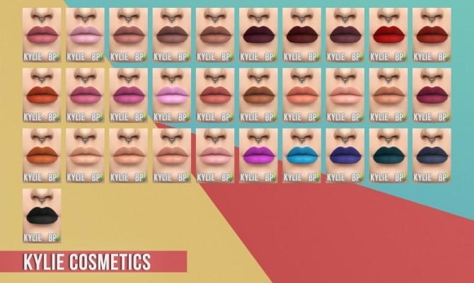 Matte Lipstick Set I at Busted Pixels image 4531 670x400 Sims 4 Updates