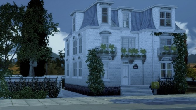 #70 Belleville house at SoulSisterSims image 4551 670x377 Sims 4 Updates