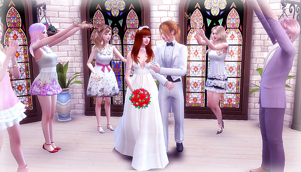 Wedding Poses 2 2 at A luckyday image 4611 Sims 4 Updates