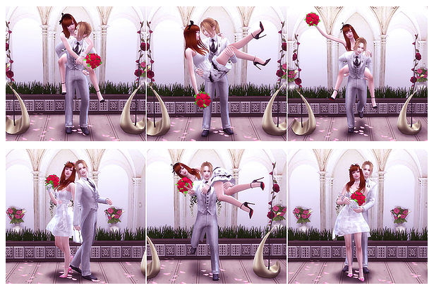 Wedding Poses 2 2 at A luckyday image 4631 Sims 4 Updates