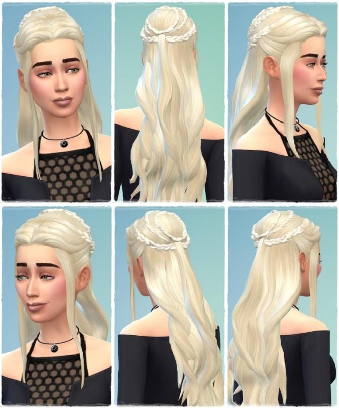 Sims 4 3.Version Daenerys Hair at Birksches Sims Blog