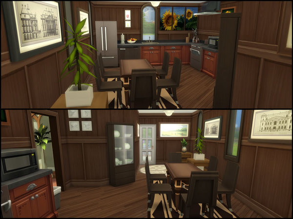 Sims 4 The Henson house by Starmanut at TSR