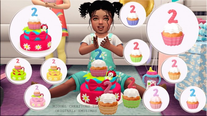 Girl 180 S Birthday Set At Victor Miguel 187 Sims 4 Updates