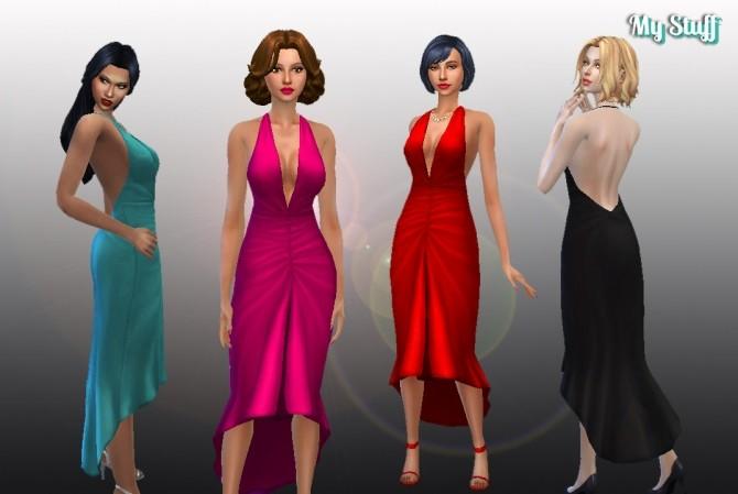 Glamour Dress Conversion at My Stuff image 4851 670x449 Sims 4 Updates