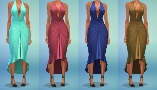 Glamour Dress Conversion at My Stuff image 488 670x385 Sims 4 Updates