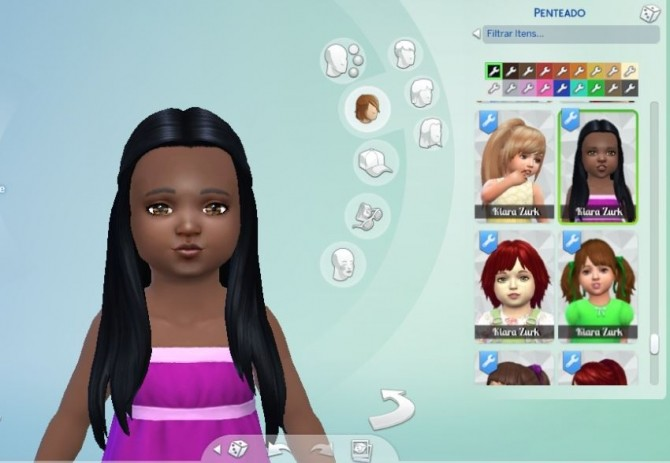Sims 4 Innovation Hair for Toddlers at My Stuff