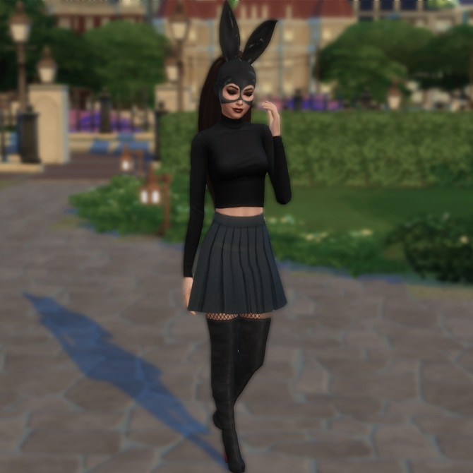 Bunny mask by SimRaees57 at Mod The Sims image 4913 670x670 Sims 4 Updates