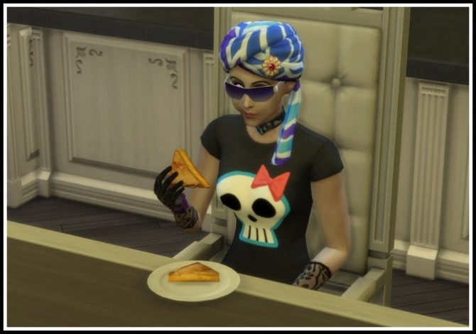 Sims 4 Vampire Power Be able to eat Human Food at LittleMsSam