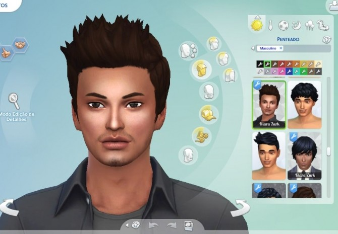 Sims 4 Robert Hairstyle at My Stuff