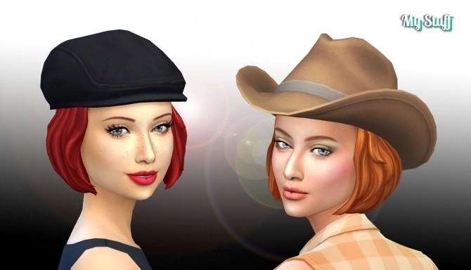 Bob Bow Hair Conversion at My Stuff image 497 670x384 Sims 4 Updates