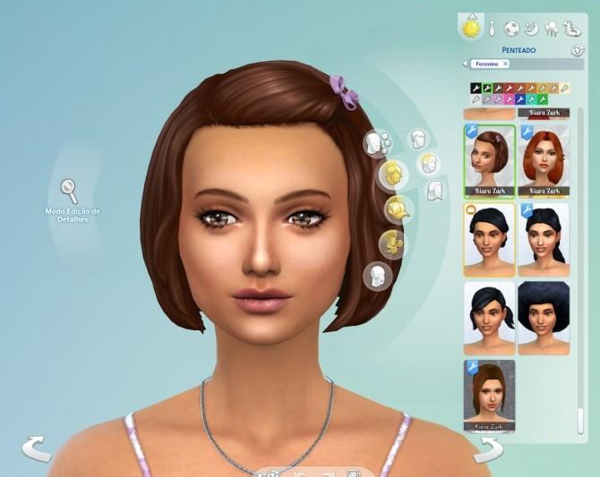 Bob Bow Hair Conversion at My Stuff image 499 670x533 Sims 4 Updates