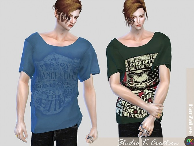 Giruto 33 Loose tee for male at Studio K Creation image 5051 670x502 Sims 4 Updates