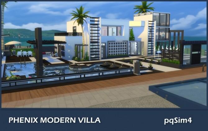 Phenix Modern Villa at pqSims4 image 509 670x422 Sims 4 Updates