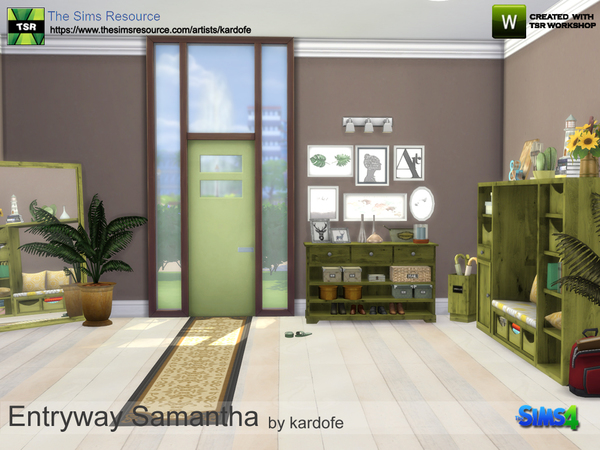 Entryway Samantha by kardofe at TSR image 5104 Sims 4 Updates