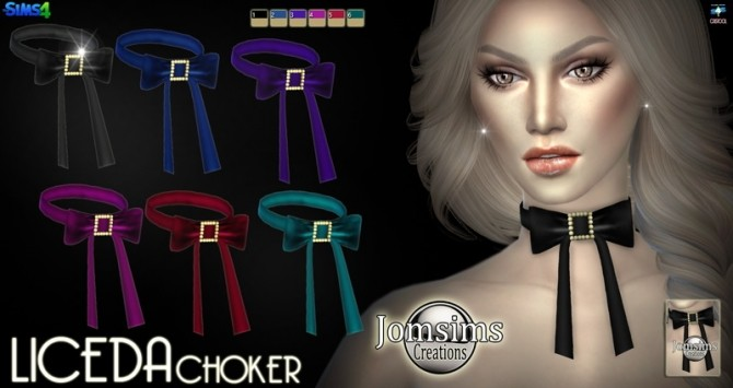 Liceda & Stelite chokers at Jomsims Creations image 5161 670x355 Sims 4 Updates