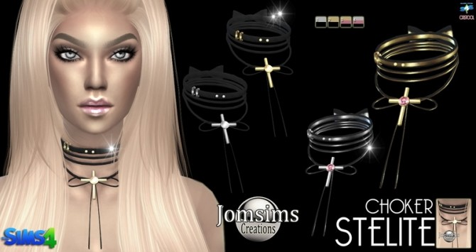 Liceda & Stelite chokers at Jomsims Creations image 5171 670x355 Sims 4 Updates