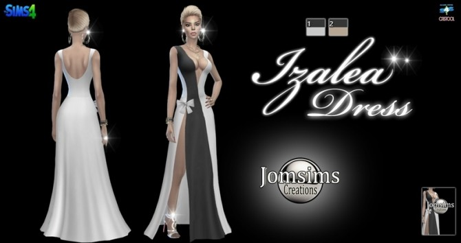 Izalea dress at Jomsims Creations image 5181 670x354 Sims 4 Updates